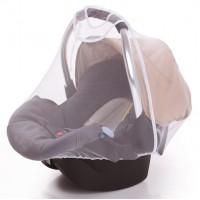Insektenschutz für Babyschale - Weiss